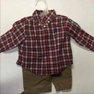 Ralph Lauren baby boy outfit sz 3m